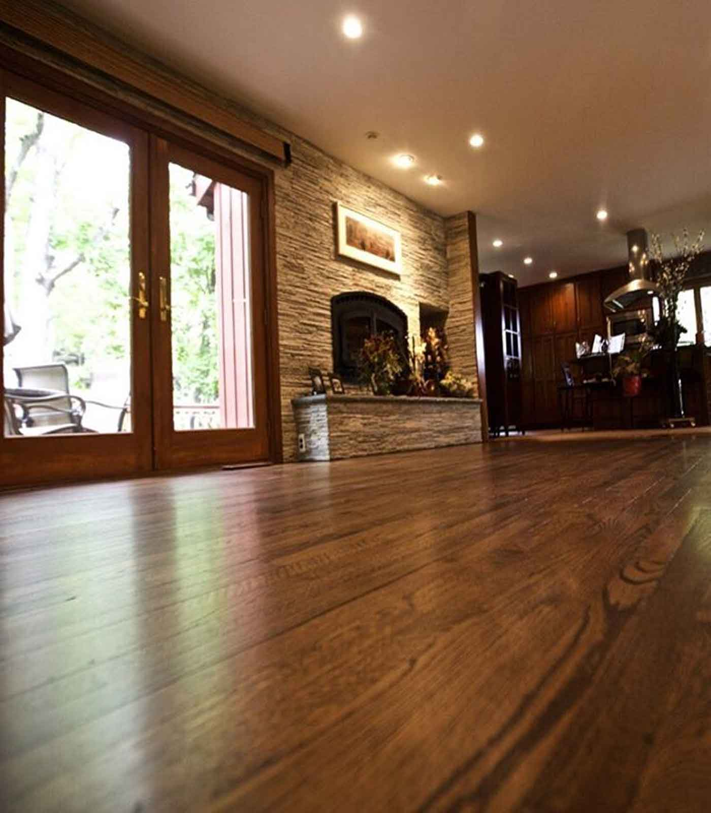 Refinished With Rosewood Duraseal Stain Floored At Home